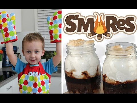 Non Cook Recipes for Kids Video Tutorial