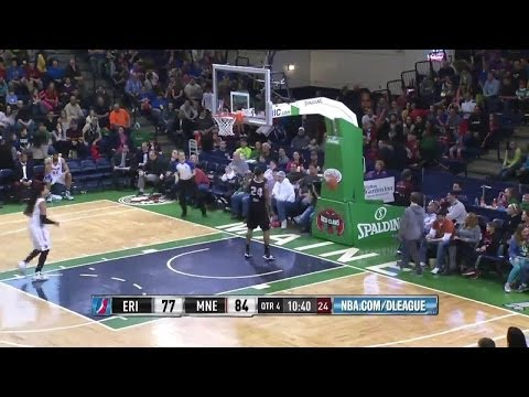 Best Dunk Of The Game: Darren White vs. Red Claws