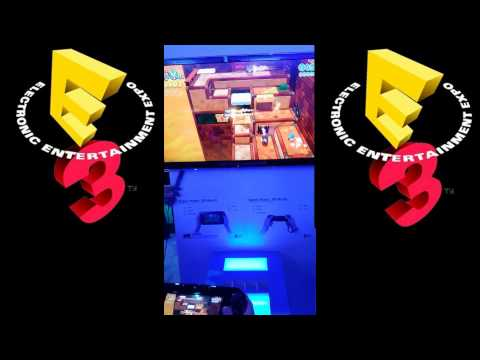 Super Mario 3D World Live E3 Hands On 2