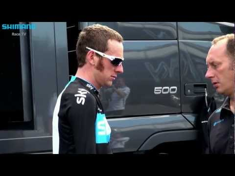 Bradley Wiggins: 'Couldn't be in a better position'