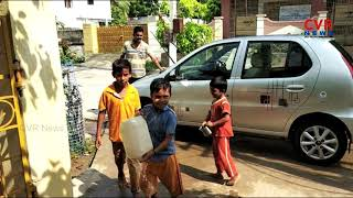 Teacher Cleaning his Car with Students | Chirala | Prakasam district | CVR News - CVRNEWSOFFICIAL