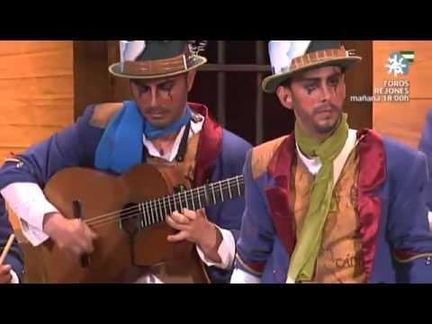 Sesión de Final, la agrupación La canción de Cádiz actúa hoy en la modalidad de Comparsas.