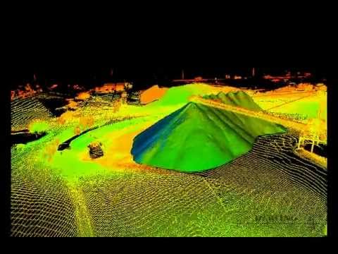 3D Laser Scanning - Volumetrics and Topographic Mapping