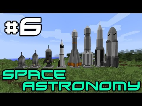 Minecraft Space Astronomy - Finally Doing Quests! #6