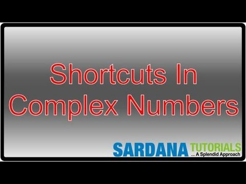 Shortcuts In Complex Numbers