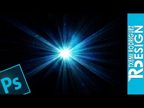 TUTORIAL PHOTOSHOP CS6: Crear Destellos de luz