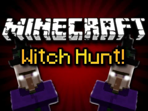 MINECRAFT WITCH HUNT - A Closer Look At The Witch (HD)