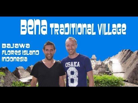 Village traditionnel de Bena - Bajawa - Itinéraire Voyage à Flores en Indonésie