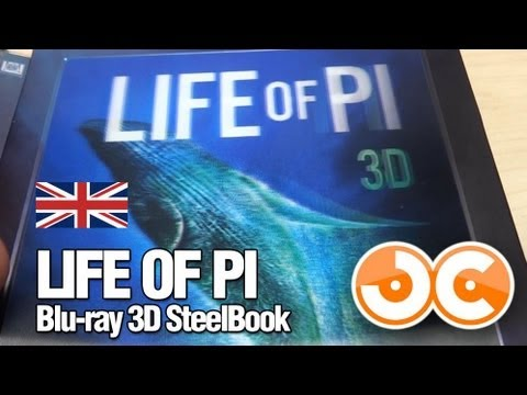 [Blu-ray] Life of Pi - Limited Edition Steelbook (UK)