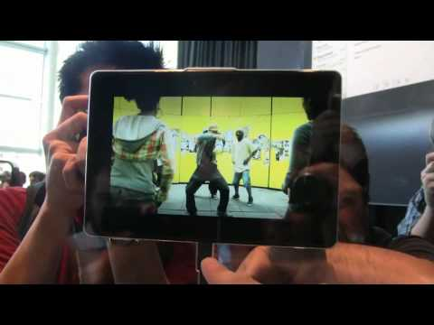 BlackBerry Playbook &quot;Hands On&quot; and first Impressions