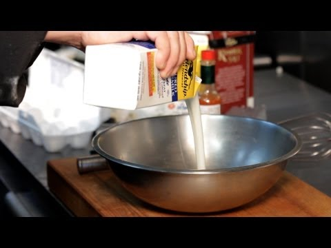 How to Make Buttermilk Batter | Deep-Frying