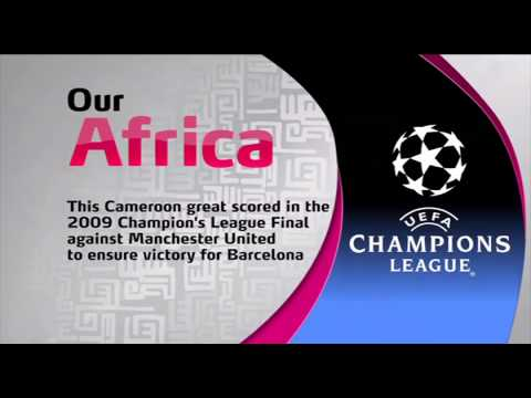 Which African player scored in the 2009 UCL Final against Man United ? #AfricanMonth