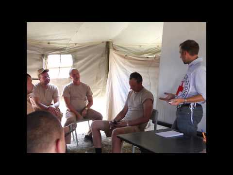 El Comité Internacional de la Cruz Roja da instrucciones operativas al convoy humanitario ruso