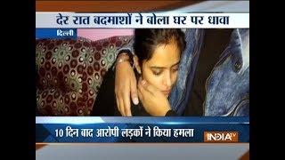 Group of men vandalize the wedding house in Delhi, threatens family not to organize the wedding - INDIATV