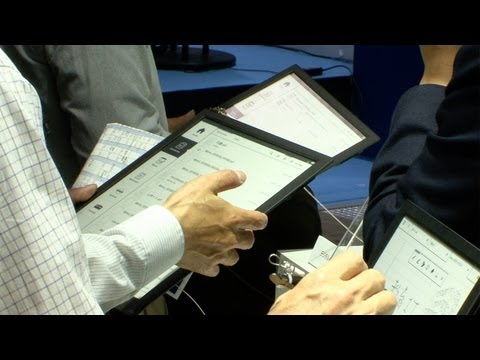 Sony A4-sized digital paper notepad is light, durable and responsive #DigInfo