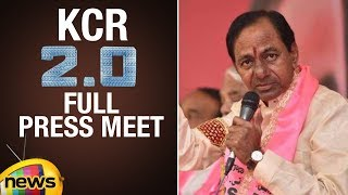 CM KCR Full Speech | KCR to Play A Crucial Role in National Politics | TRS Party Latest Press Meet - MANGONEWS