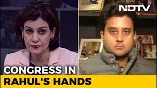 Jyotiraditya Scindia Says Changes Coming To Congress After Rahul Gandhi's Elevation - NDTV