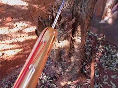 Arbaletes artesanais de madeira - 90cm