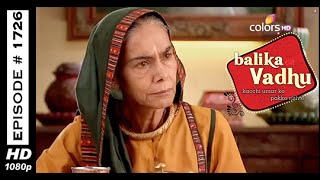 Balika Vadhu : Episode 1719 - 31st October 2014