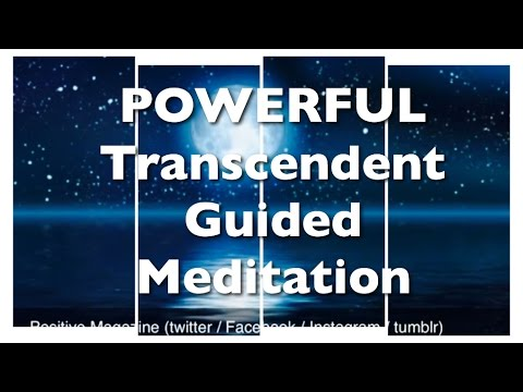 TRANSCENDENT GUIDED MEDITATION | POWERFUL | works instantly