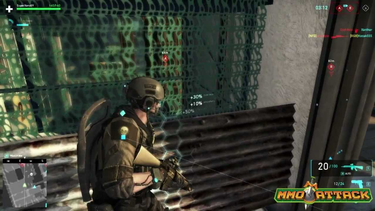 Ghost Recon Online Gameplay - First Impressions HD