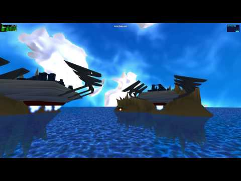 Procedurally Generated Sky and Ocean with GLSL Shaders - Langenium