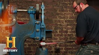 Forged in Fire: Bladesmithing 101: The Press - HISTORYCHANNEL