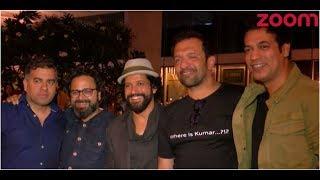 Farhan Akhtar Spotted With Director Nikkhil Advani - ZOOMDEKHO