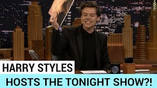 Harry Styles Hosts The Tonight Show?! - HOLLYWIRETV