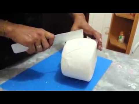 Como fazer Efeito Capitonê (Losangos)  na Pasta Americana