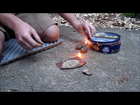 Primitive Fire From Stones
