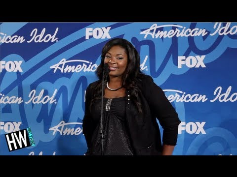 Candice Glover Moments After Winning American Idol!