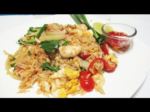 Thai Fried rice kao pad 