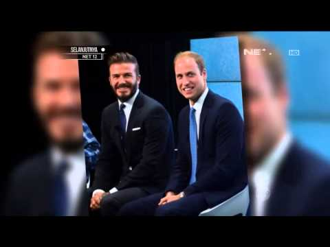 Pangeran William mengajak David Beckham berkampanye Satwa Liar