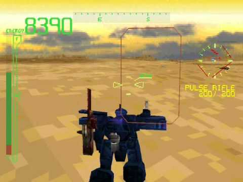 Armored Core Gameplay