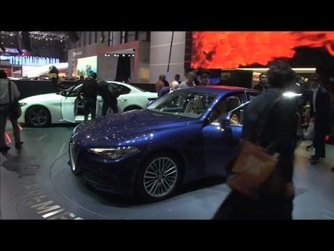 Autoperiskop.cz  – Výjimečný pohled na auta - Autosalon Ženeva 2016 – Alfa Romeo Giulia – VIDEO