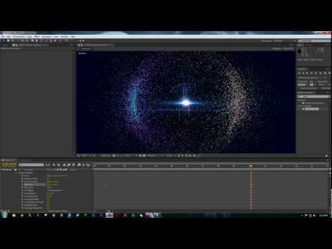 After Effect Tutorial - Trapcode Particular: Particle Sphere