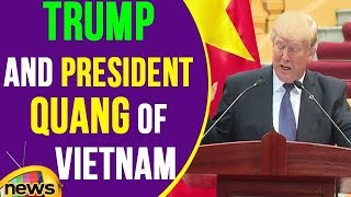 Joint Press Conference Of US president Trump and President Quang of Vietnam | Mango News - MANGONEWS