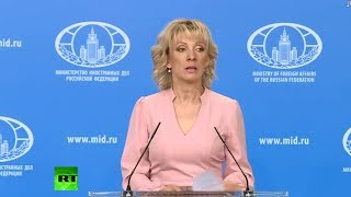 Russian Foreign Ministry news briefing - RUSSIATODAY