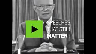 Speeches that still matter: Eisenhower's military industrial complex speech - RUSSIATODAY