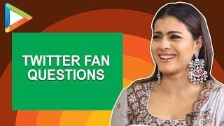 "Kajol: ""I would like Shah Rukh Khan to play…"" | Twitter Fan Questions | Helicopter Eela - HUNGAMA"
