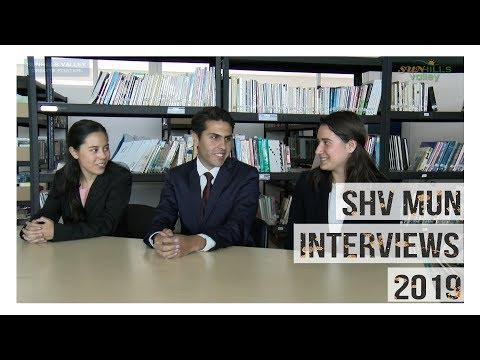 SHV MUN Interviews 2019