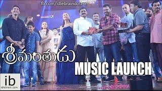 Mahesh Babu's Srimanthudu music launch - idlebrain.com - IDLEBRAINLIVE