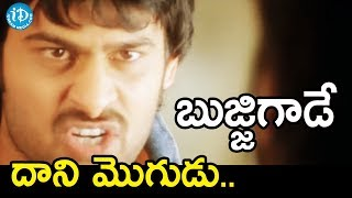 బుజ్జిగాడే దాని మొగుడు - Bujjigadu Movie Scenes    Prabhas,Trisha - IDREAMMOVIES