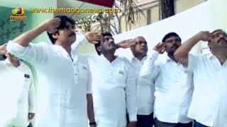 Pawan Kalyan Flag Hoisting at Janasena Office In Hyderabad | Mango News - MANGONEWS