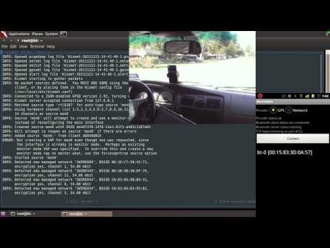 Wardrive with Backtrack 5 and Android phone GPS