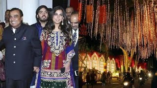 Isha Ambani - Anand Piramal wedding grand celebration video | Live from Antilia - NEWSXLIVE