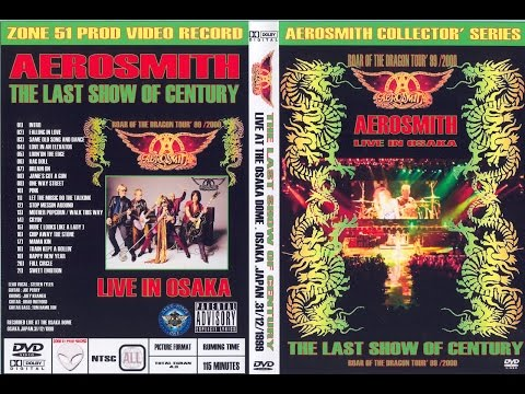 Aerosmith Live at Osaka Dome Japan 1999-12-31