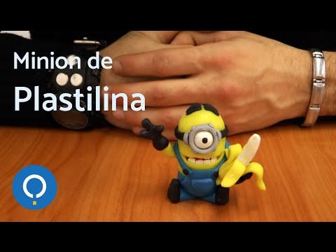 Manualidades de plastilina (Minion) - How to do a Minion with plasticine (1/3)