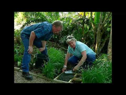 The Gardener Magazine: Making garden pavers in-situ